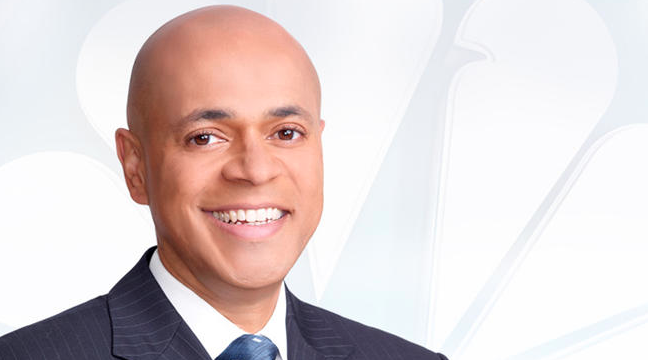 """David Ushery is both an anchor for the weekend editions of """"News 4 New York"""" is the host and creator of """"The Debrief with David Ushery."""""""