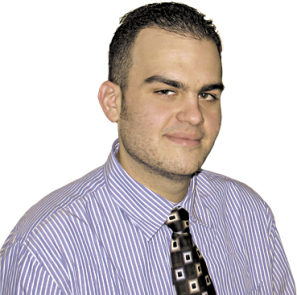 Greg Bordonaro '08 was named editor of the Hartford Business Journal in June 2013.